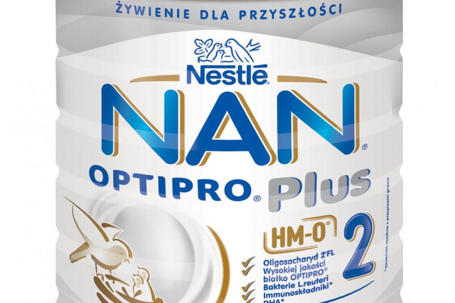 Nestle wprowadza nowe mleko modyfikowane NAN