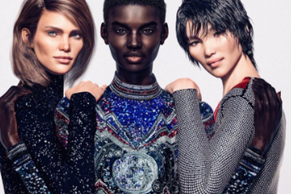 Cyfrowe modelki wkraczają do świata mody