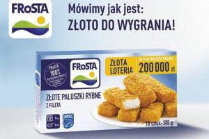 FRoSTA wspiera sprzedaż loterią