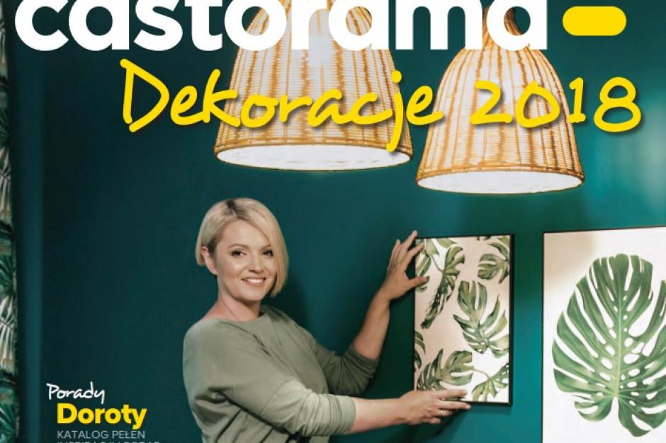Dorota Szelągowska promuje ofertę artykułów dekoracyjnych w katalogu Castoramy