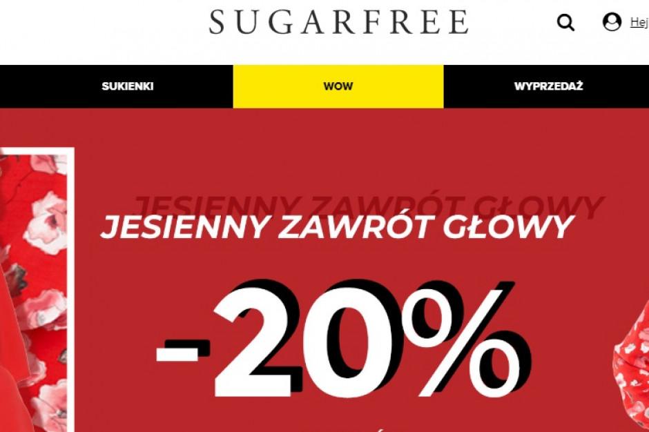 Hubstyle tworzy odpisy w kwocie 4,82 mln zł ze względu na niższe przychody Sugarfree.pl
