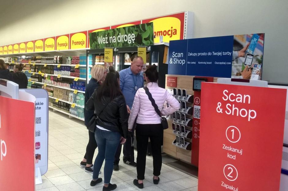 Tesco wprowadza usługę Scan&Shop w hipermarkecie w Jeleniej Górze