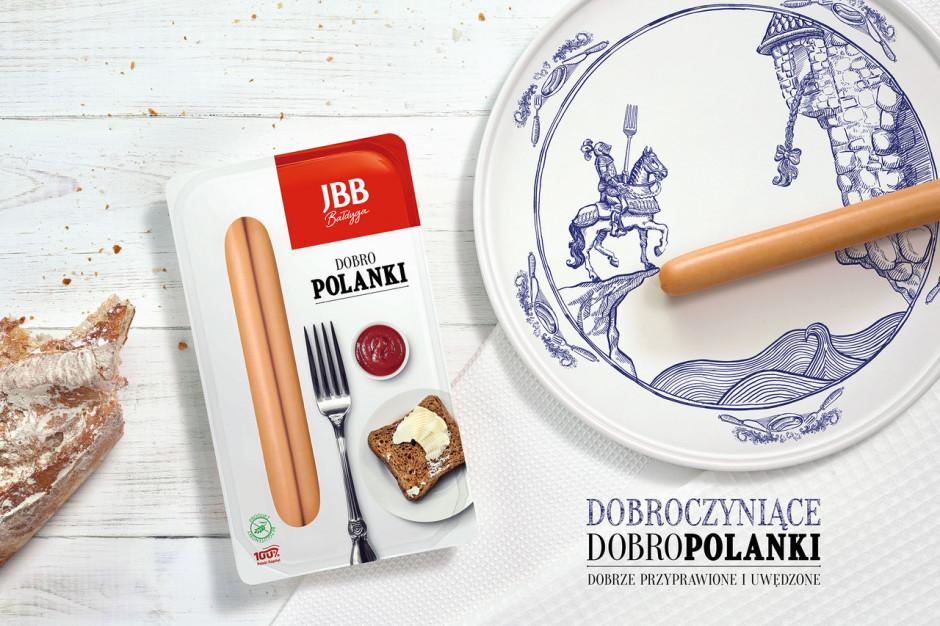 Parówki Dobropolanki - nowość od JBB Bałdyga