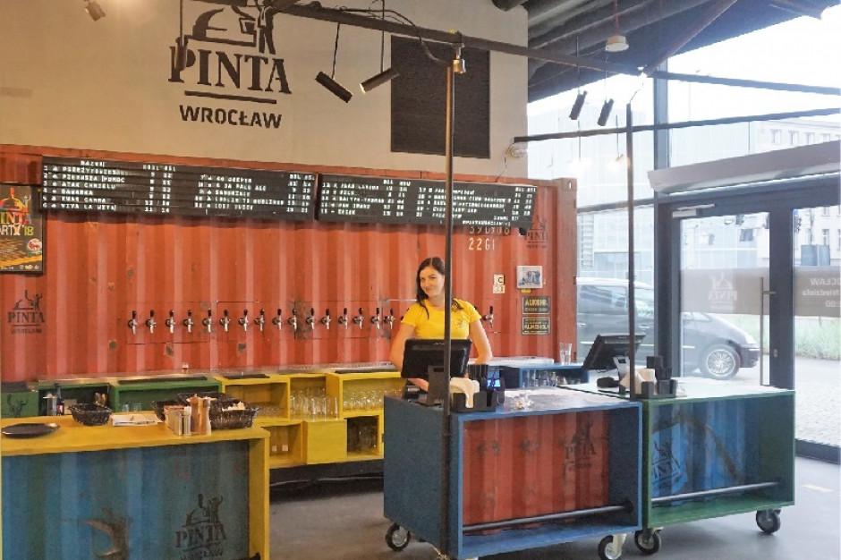 PINTA Wrocław uruchamia pierwszy franczyzowy pub rzemieślniczy