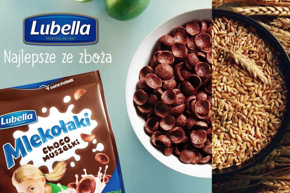 Płatki śniadaniowe dla dzieci Lubelli z udoskonalonym składem