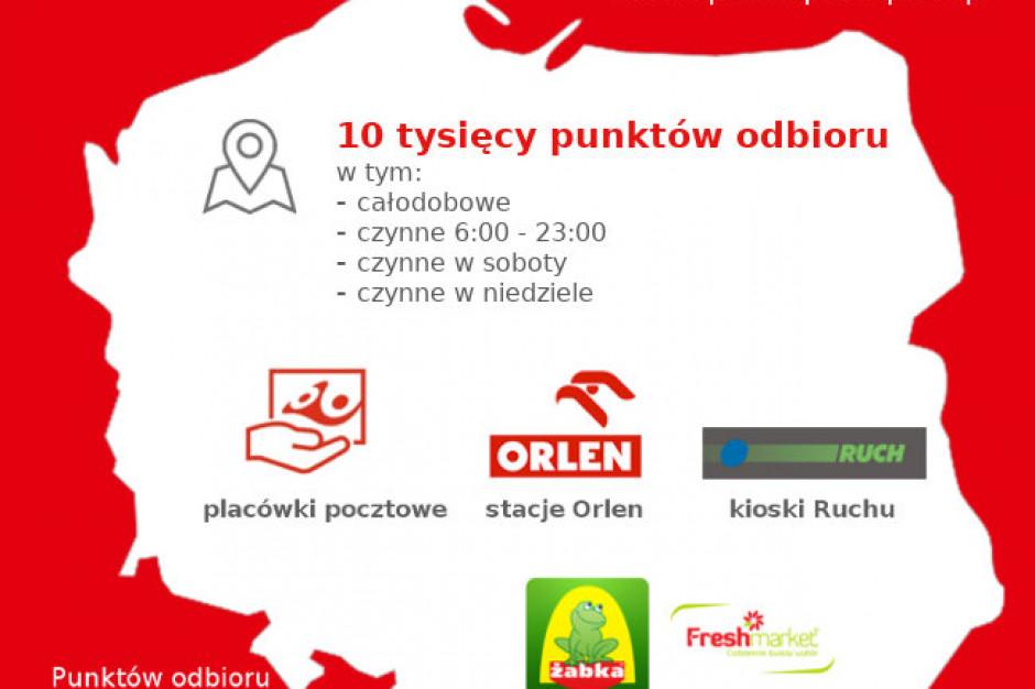 """Poczta Polska: Usługa """"Odbiór w punkcie"""" dostępna w 10 tys. miejsc"""