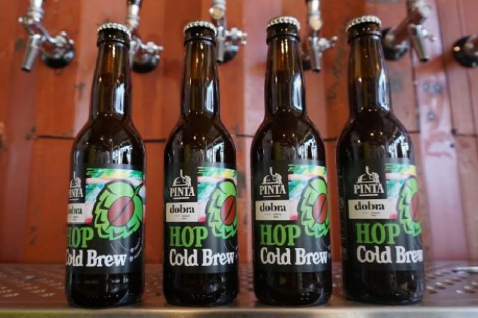 Hop Cold Brew - nachmielona kawa parzoną na zimno od Browaru Pinta