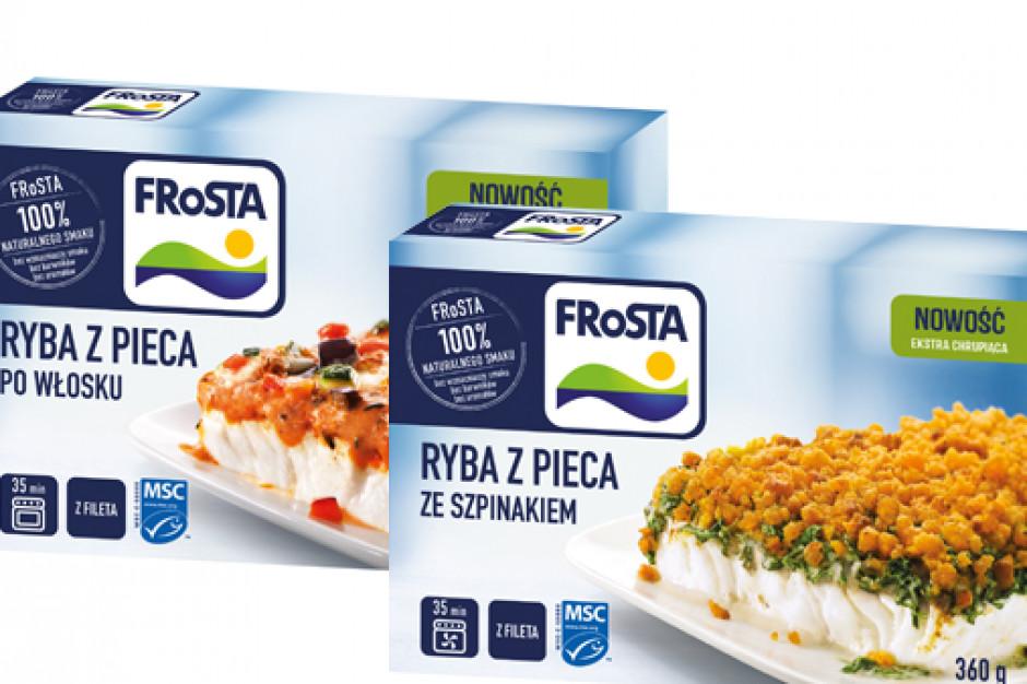 Nowe ryby z pieca od Frosty