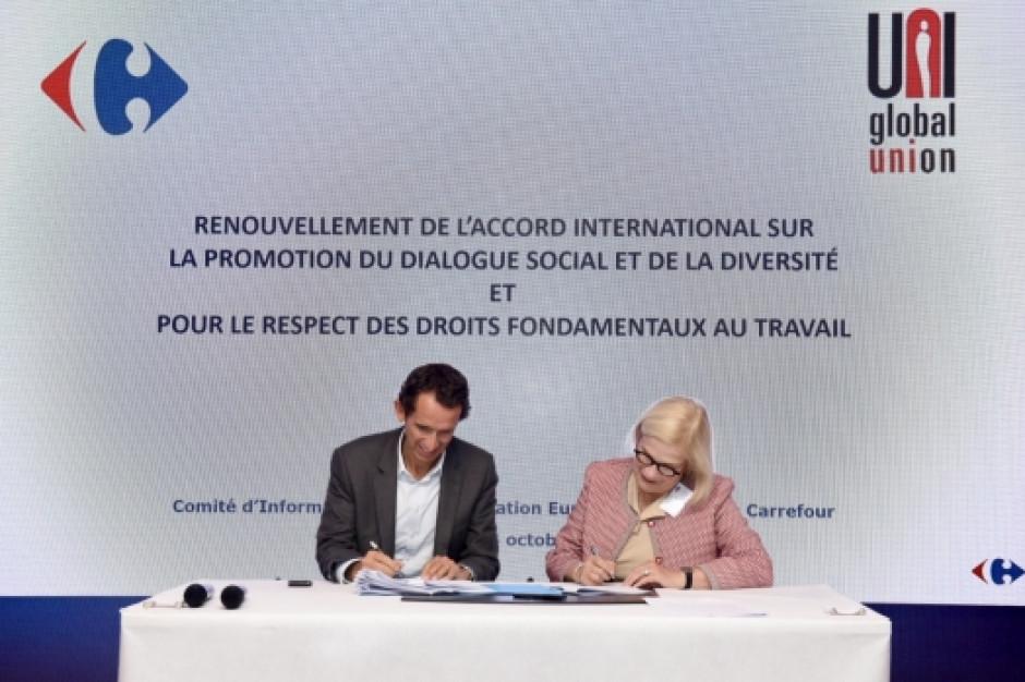 Carrefour zacieśnia współpracę z UNI Global Union