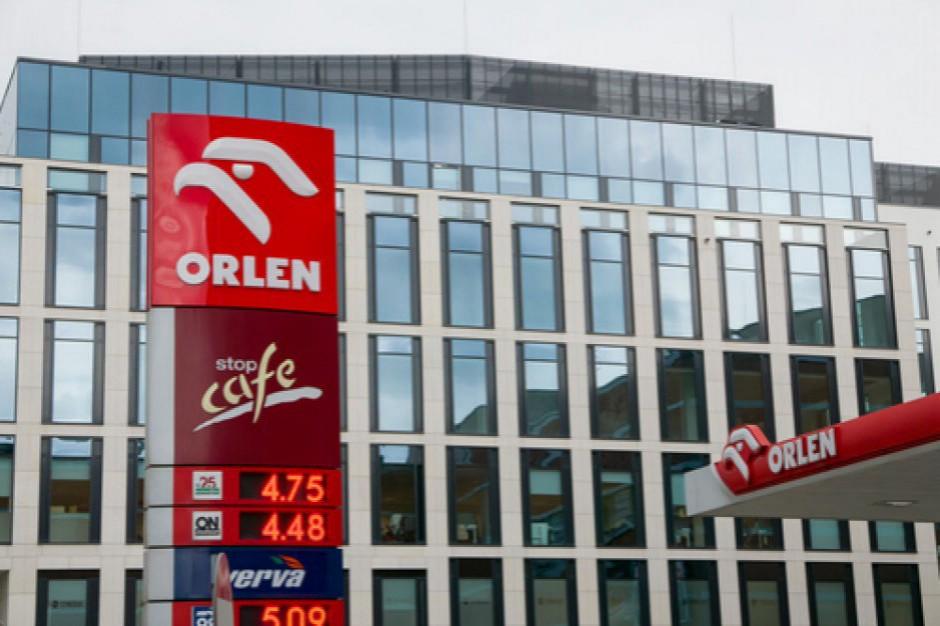 PKN Orlen: 83 proc. naszych produktów na stacjach jest wytwarzanych w kraju