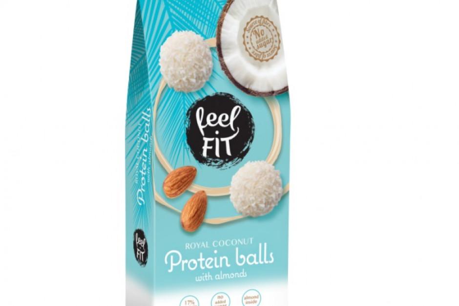 Proteinowe Kulki kokosowe od marki feel FIT