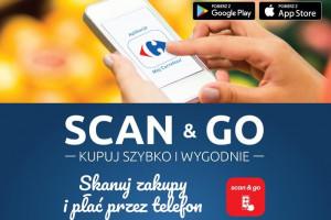 Usługa Scan&Go dostępna w kolejnych 30 placówkach Carrefoura