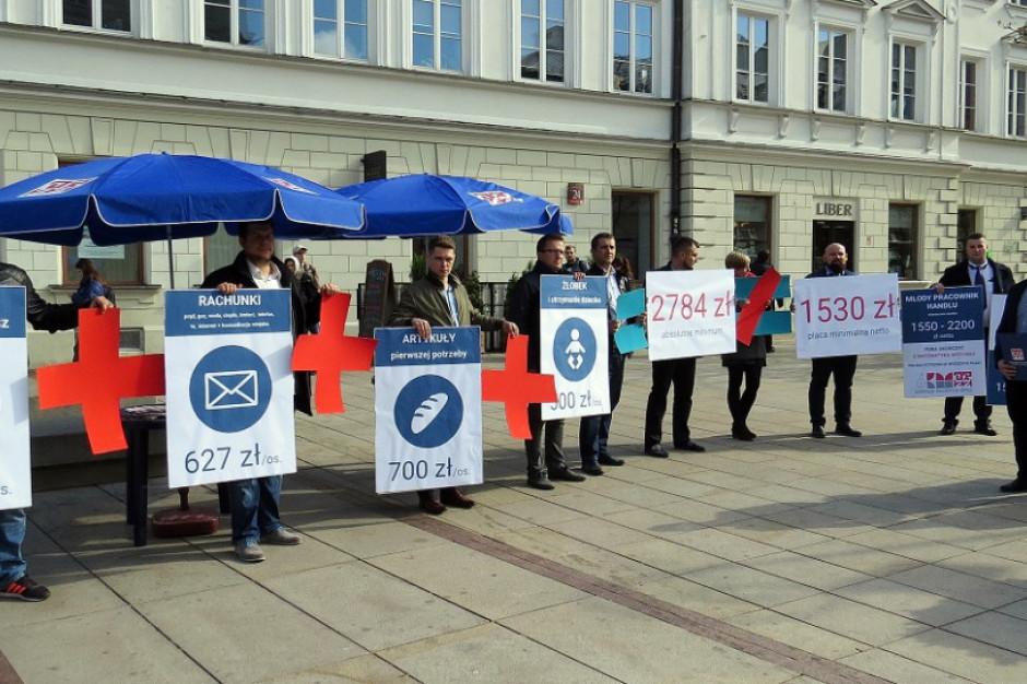OPZZ: Pensja minimalna nie pokrywa podstawowych kosztów przeżycia