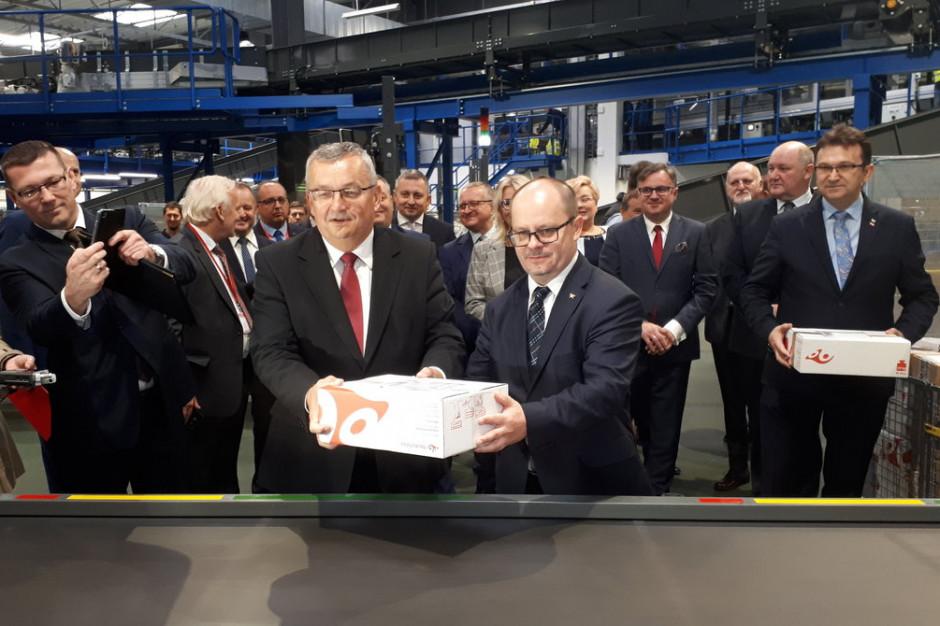 Poczta Polska uruchomiła najnowocześniejszą maszynę paczkową w Polsce