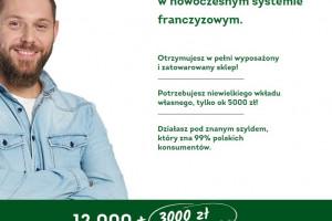 6,5 tys. już nie wystarczy. Żabka proponuje nowym franczyzobiorcom 15 tys. zł