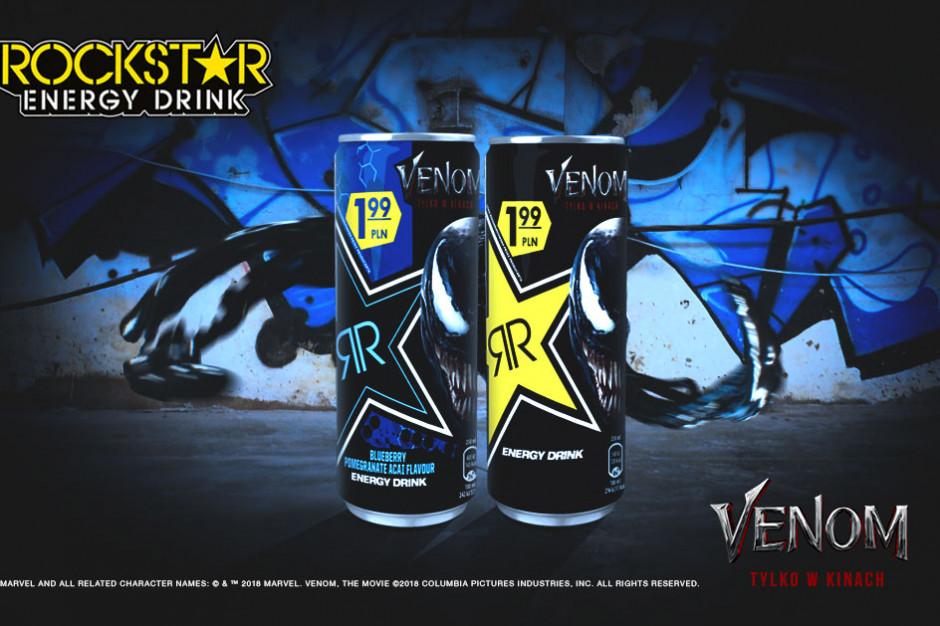 """Rockstar Energy Drink prowadzi kampanię związaną z premierą filmu """"Venom"""""""