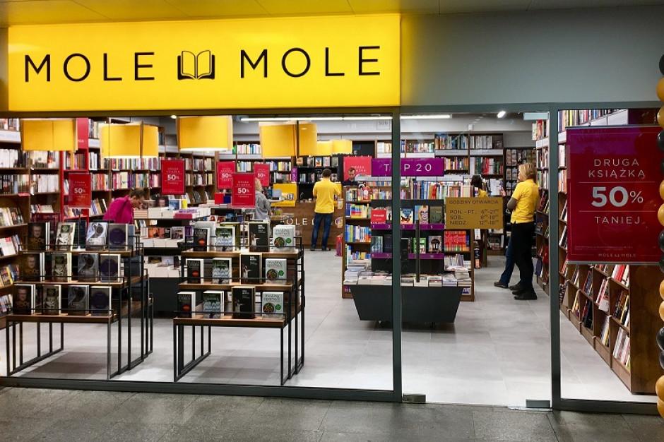 Sieć Mole Mole otworzyła księgarnię na peronie Dworca Centralnego