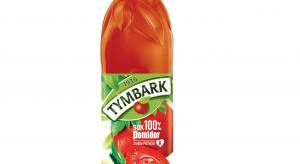 Sok pomidorowy Tymbark w butelce PET