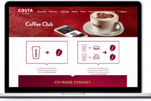 Costa Coffee startuje z nową platformą lojalnościową