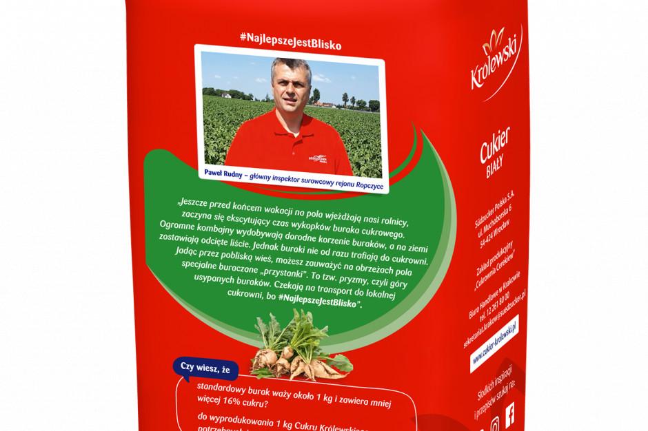 Rolnicy i pracownicy cukrowni w kampanii Cukru Królewskiego