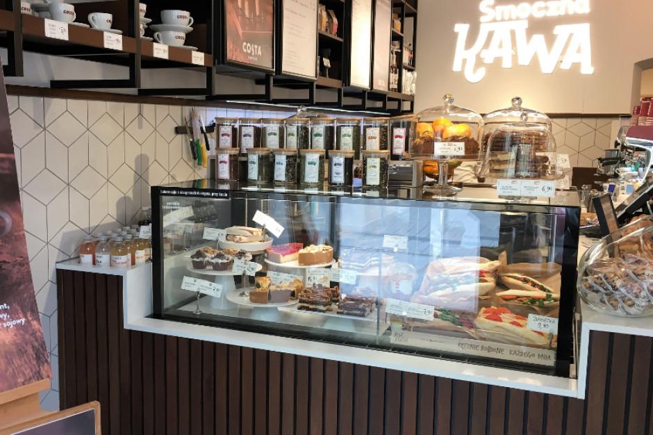 Nowa kawiarnia Costa Coffee w Krakowie