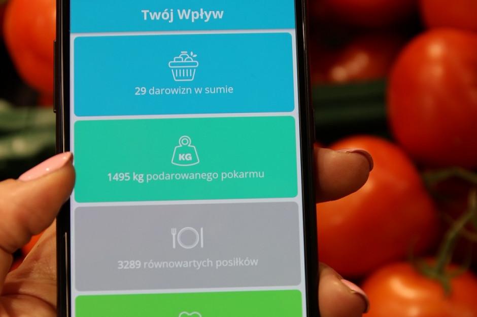 Tesco Polska wprowadza aplikację, która ułatwia przekazywanie nadwyżek żywności