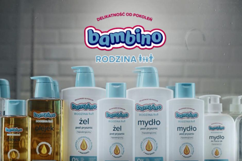 Marka Bambino promuje kosmetyki dla całej rodziny