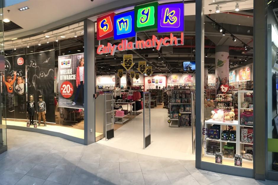 SMYK otworzył w październiku trzy kolejne sklepy
