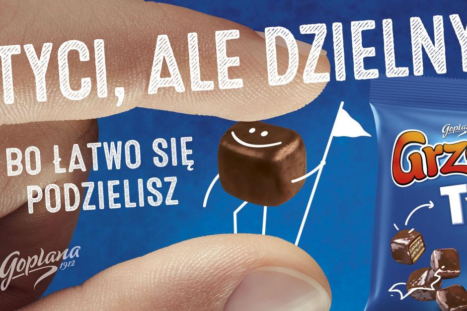 Marka Grześki rozpoczyna kampanię mini wafelków Grześki Tyci
