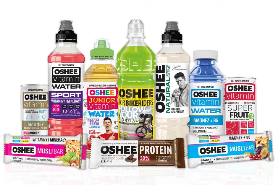 OSHEE obniża zawartość cukru w swoich produktach
