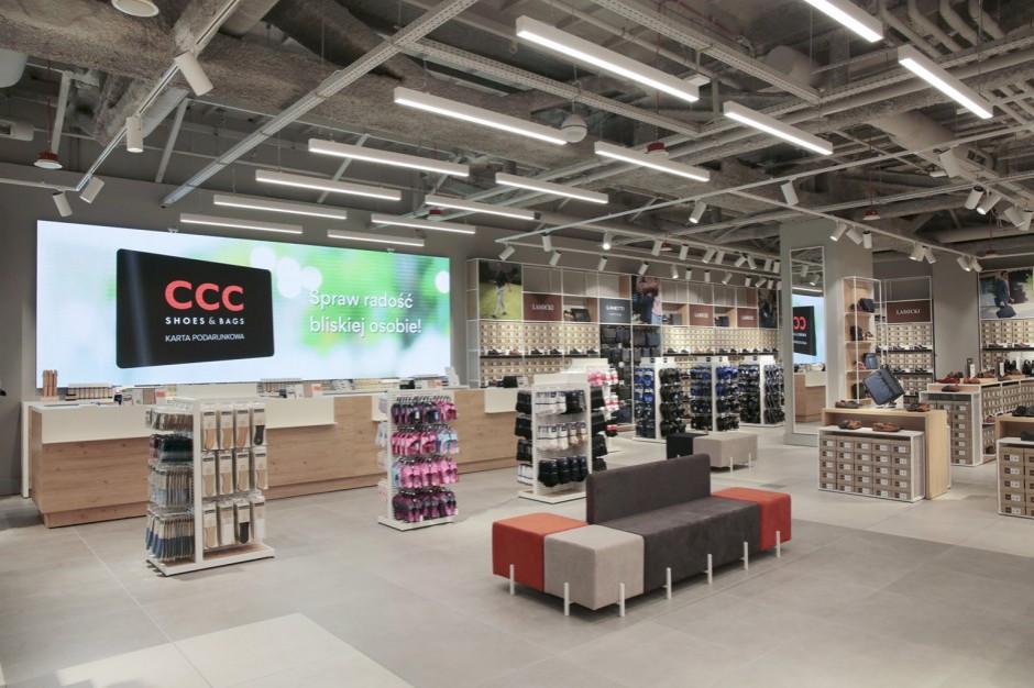 Grupa CCC zwiększyła sprzedaż w październiku