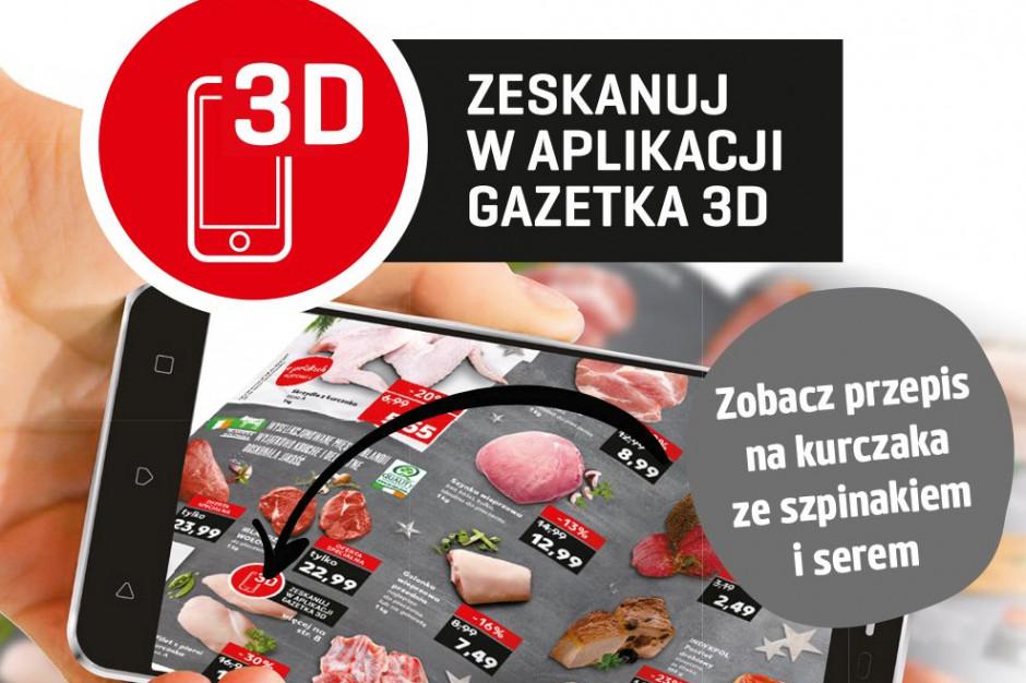 Kaufland wprowadza multimedialną gazetę reklamową