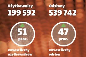 Rekordowe wyniki serwisu dlahandlu.pl