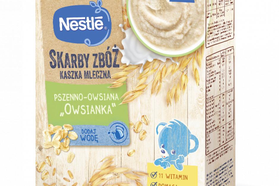Skarby Zbóż - nowe kaszki dla niemowląt od Nestle