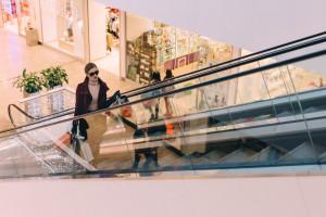 Mniej klientów w centrach handlowych w październiku