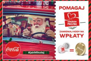 Coca-Cola ze świąteczną kampanią i loterią