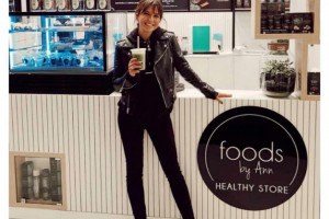 Anna Lewandowska otworzyła pierwszą kawiarnię Healthy Store by Ann