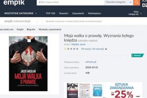 Empik zablokował sprzedaż kontrowersyjnej książki