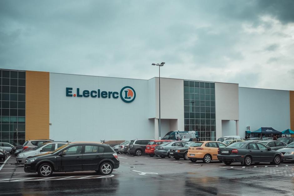 Hipermarket E.Leclerc ruszył w miejscu sklepu Frac