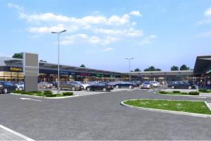 Nowy projekt handlowy w Łomiankach