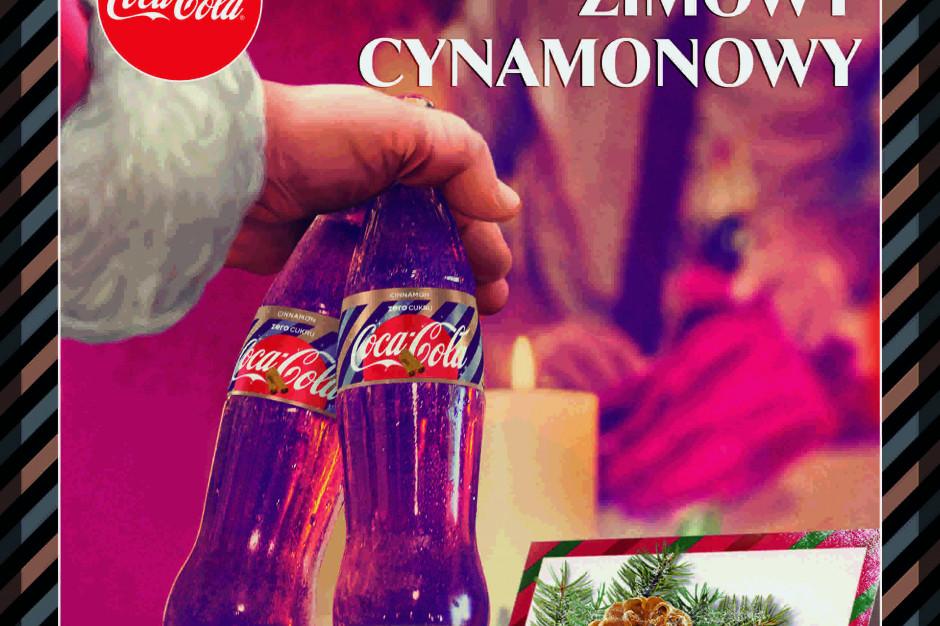 Coca-Cola o smaku cynamonowym - świąteczna nowość marki