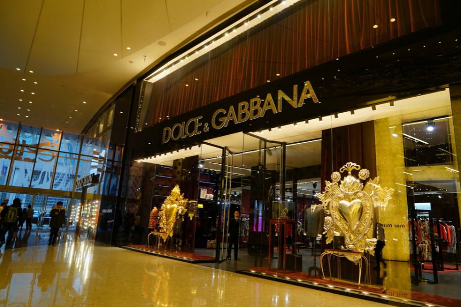 Marka Dolce&Gabbana podpadła Chińczykom