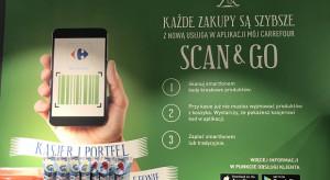 Usługa Scan&Go w Carrefourze oczami Symetria UX