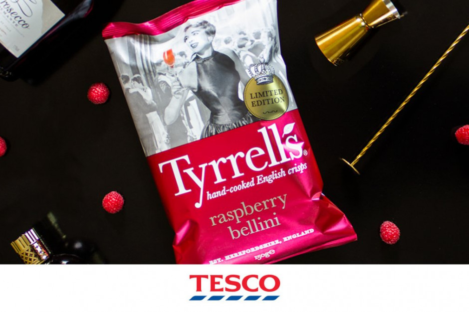 W brytyjskich sieciach sezon na oryginalne smaki chipsów