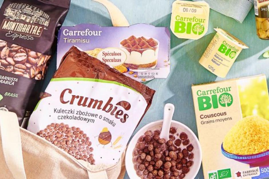 Carrefour zobowiązał się do zmniejszenia ilości plastiku w opakowaniach marki własnej