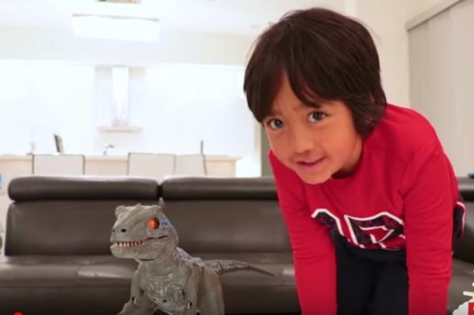 8-letni Ryan najlepiej zarabiającym youtuberem