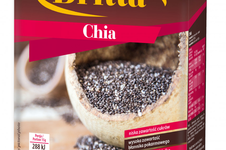 Quinoa biała oraz chia – dwa nowe produkty w ofercie marki Britta