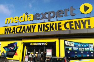 Sieć Media Expert w grudniu powiększyła się w sumie o siedem sklepów