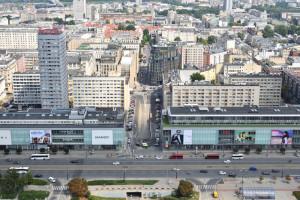 Marszałkowska i Aleje Jerozolimskie bardziej przyjazne dla handlu? Miasto i JLL...