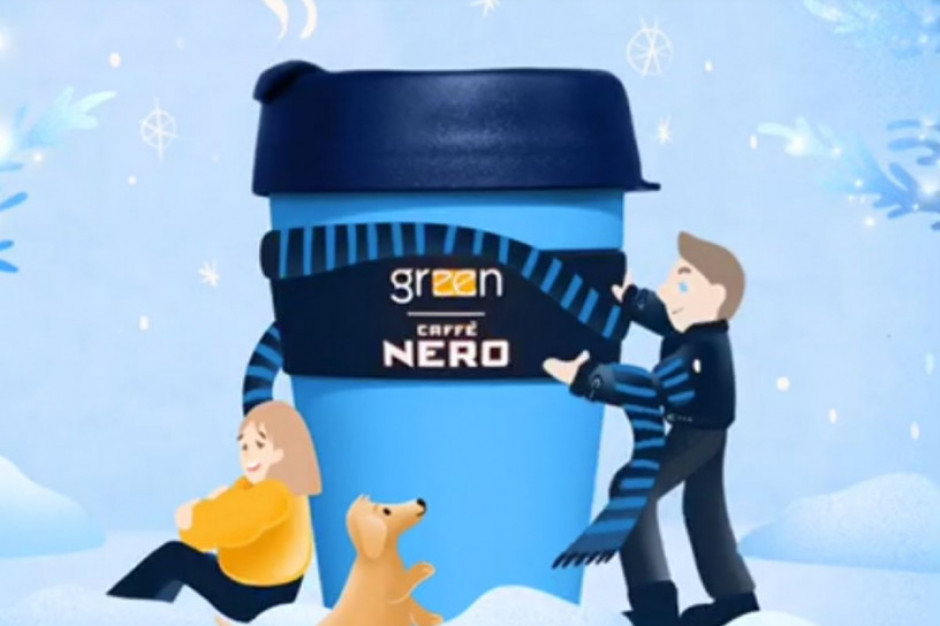"""Green Caffe Nero dołącza do akcji """"Z własnym kubkiem"""""""